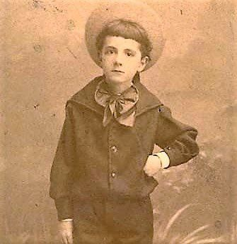 A défaut de photo de Georges enfant, celle de son fils Jacques.