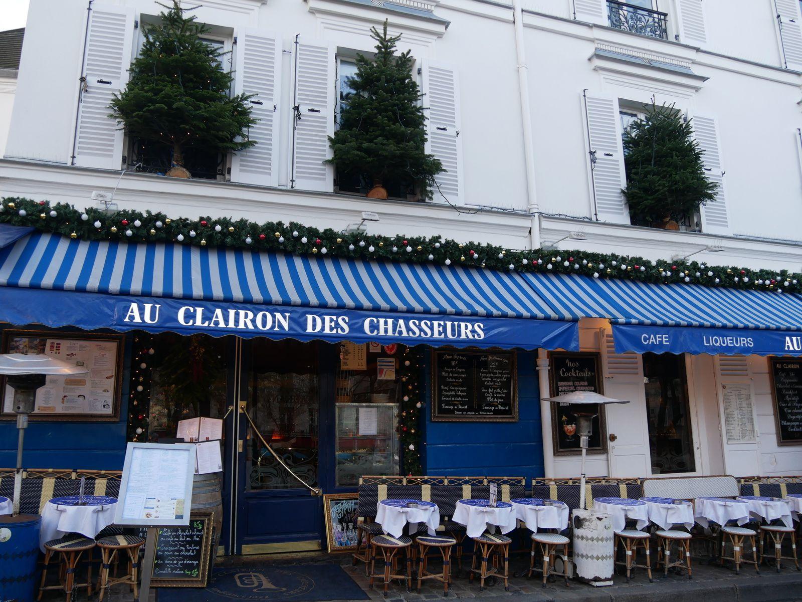 Place du Tertre. Coeur de Montmartre.