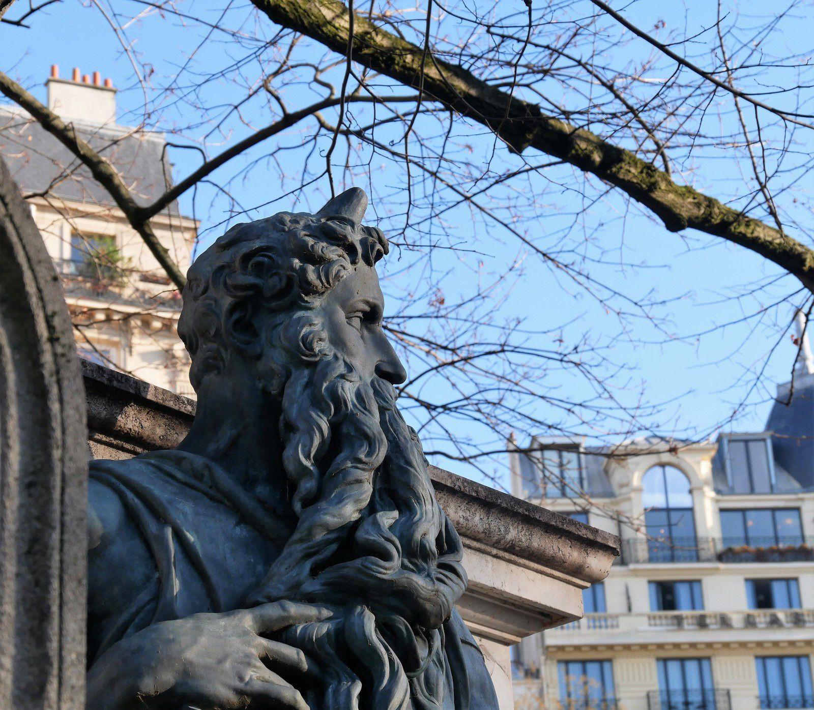 Daniel Iffla Osiris. Cimetière de Montmartre. Une belle histoire d'amour et de fidélité.