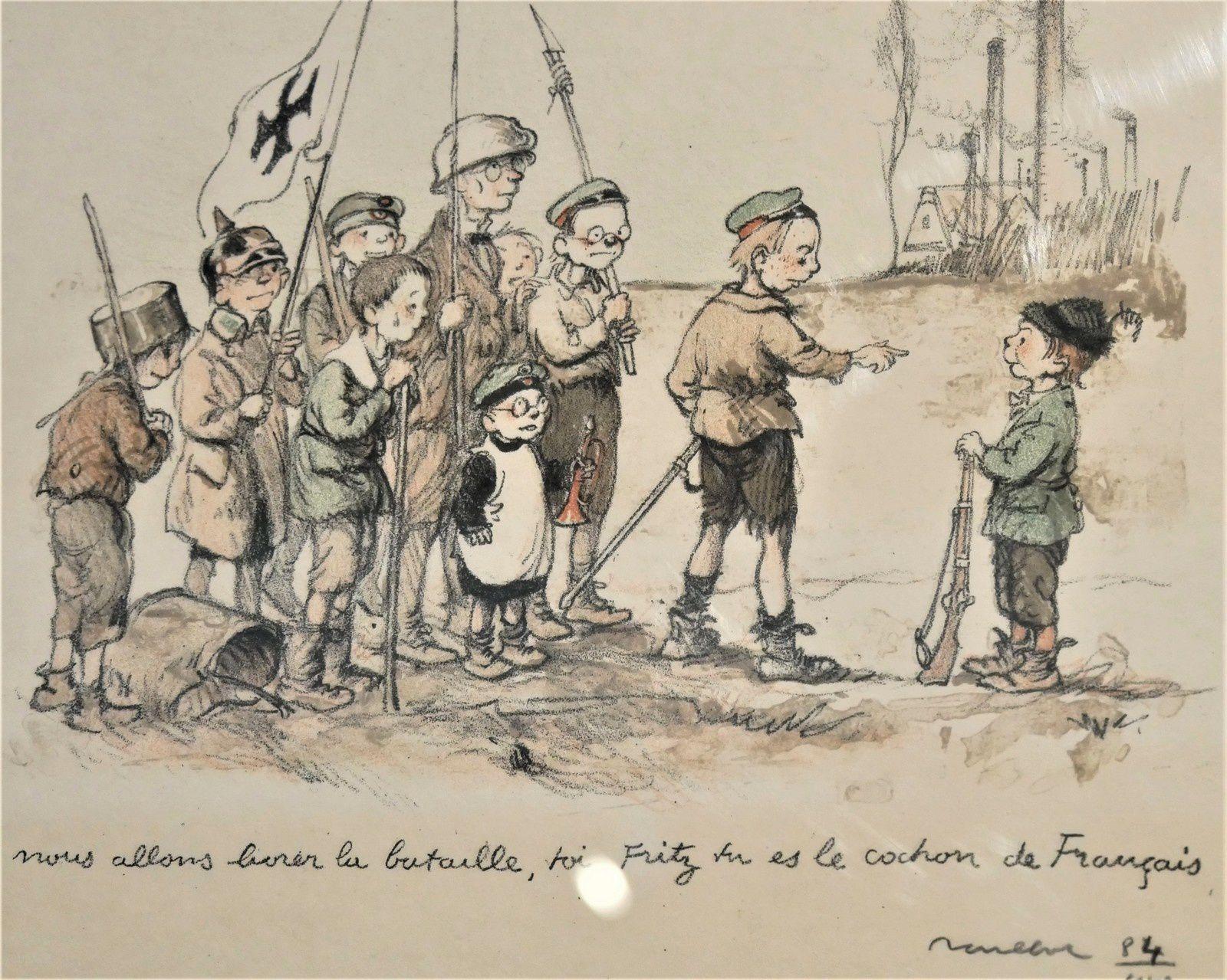 Poulbot et la guerre. Musée de Montmartre. Exposition.