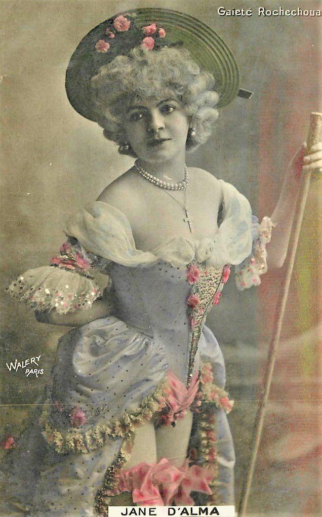 Jane d'Alma à la Gaîté Rochechouart