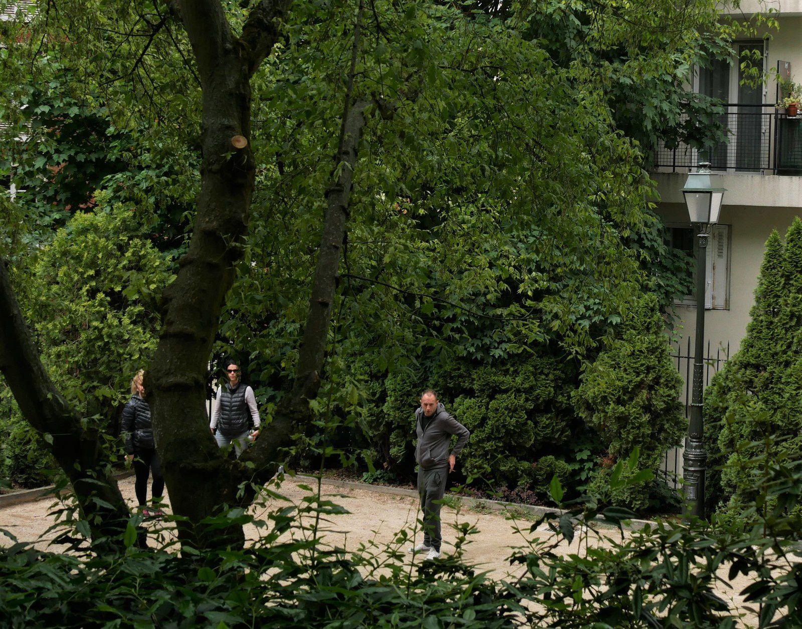La Turlure. Le moulin. le parc. le square Bleustein Blanchet.