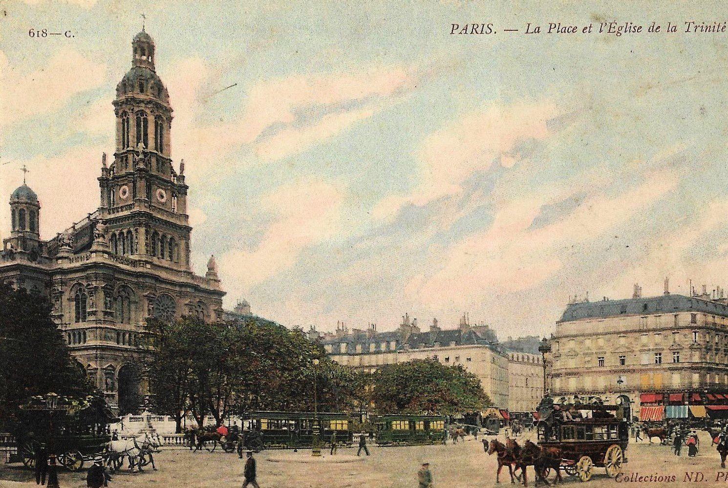 Rue Ballu. Histoire, architecture. Blémont, Jarry, Dumas, Zola, Degas, le Père Enfantin, Lily boulanger....