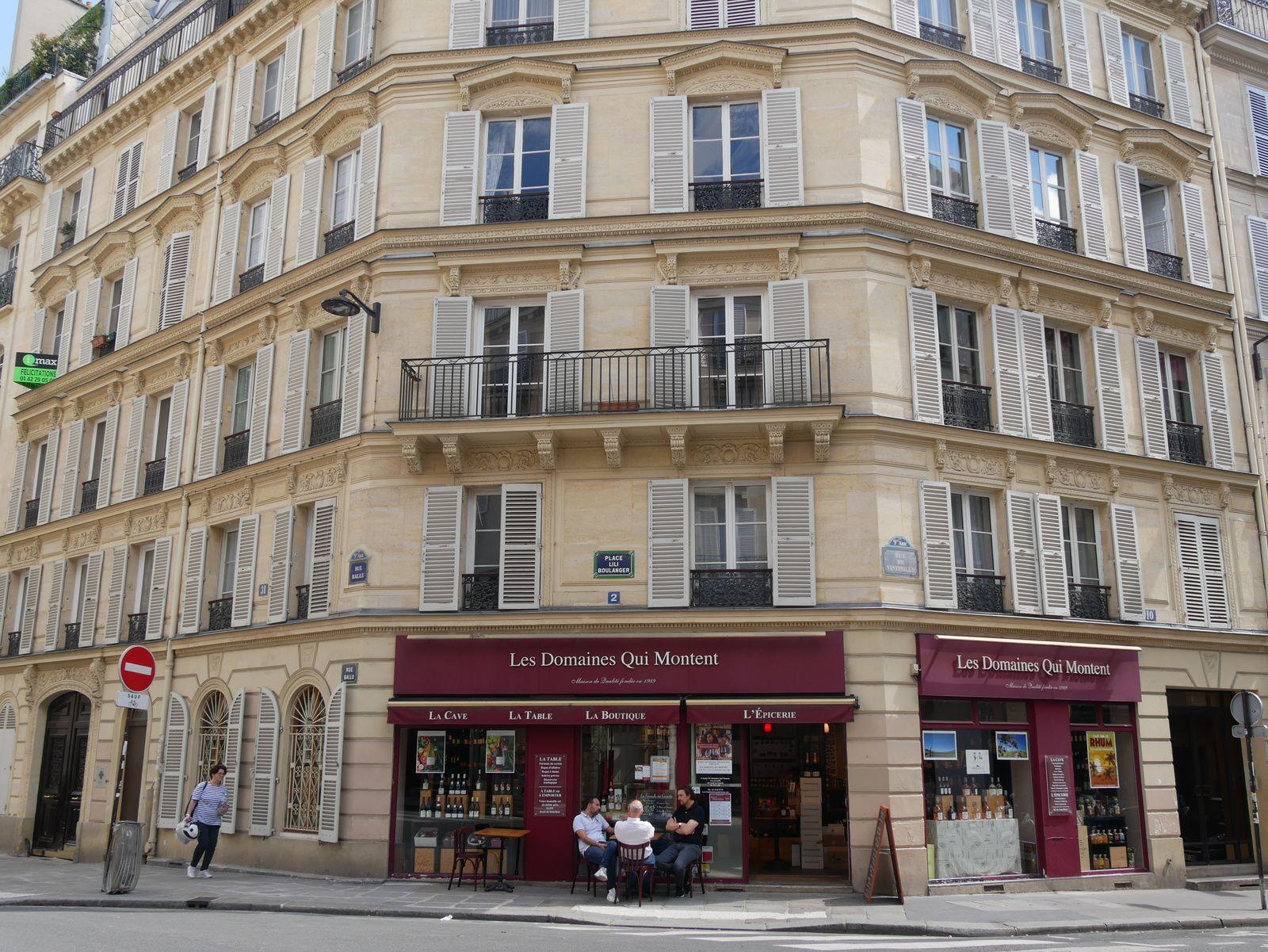 Le 2 place Lili boulanger ancien 31 rue Ballu