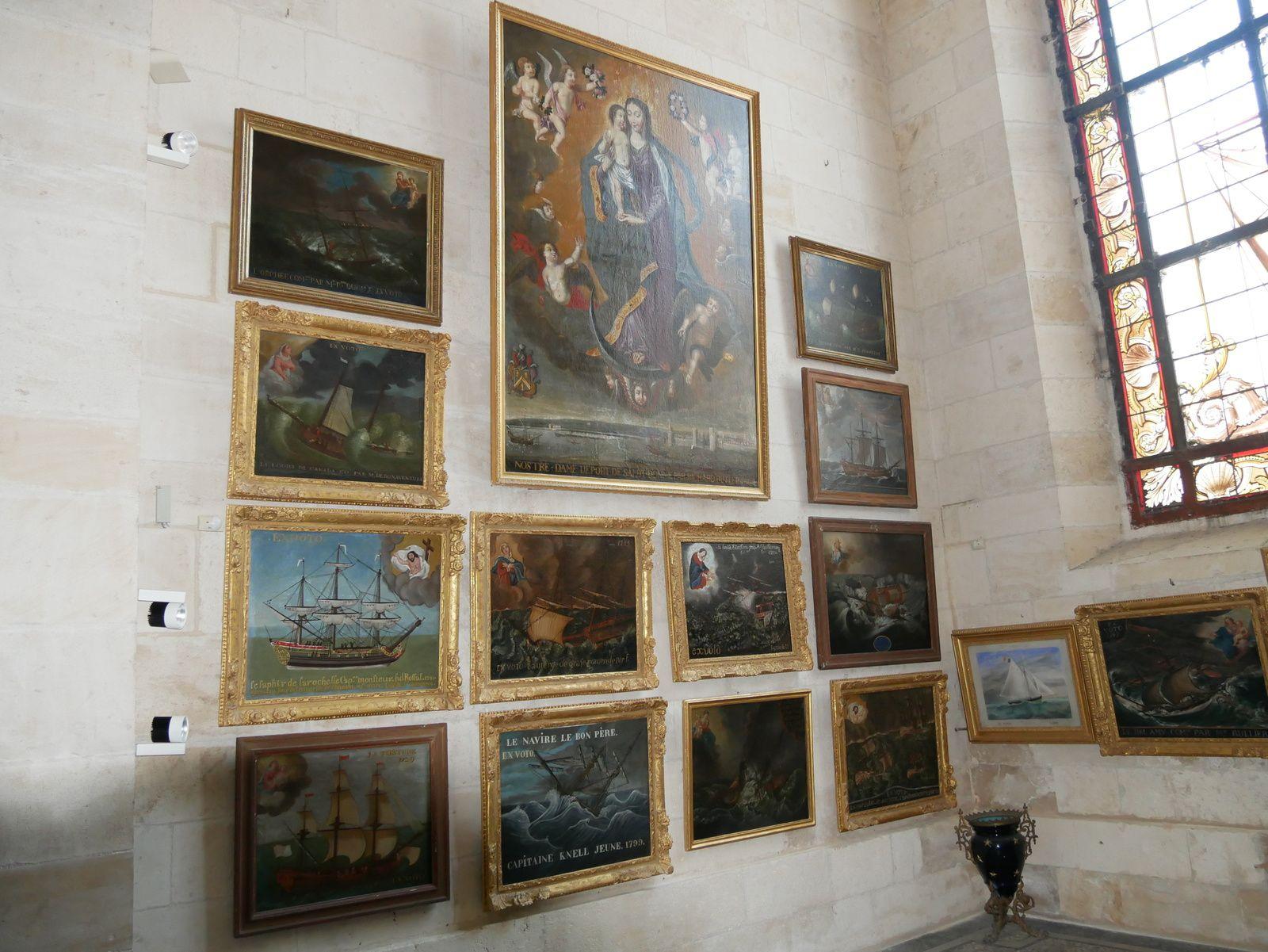 Les ex-votos de La Rochelle (cathédrale Saint-Louis)