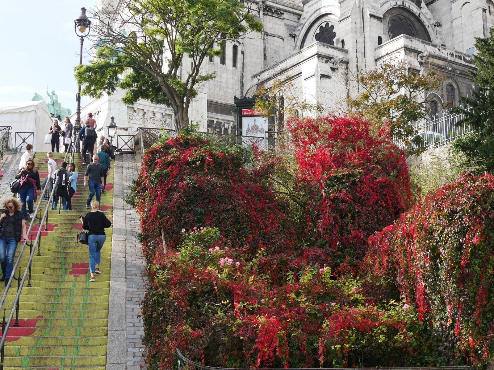 Album photos de Montmartre en octobre 2019.