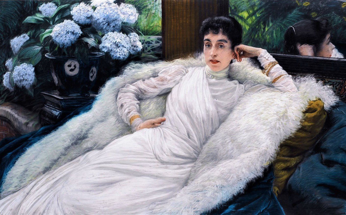 Clotilde Briatte (toile de James Tissot).