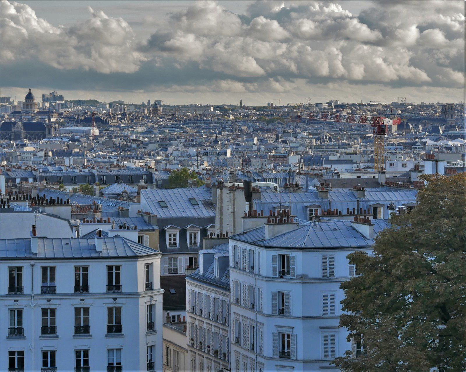 Album photos de Montmartre en octobre 2020