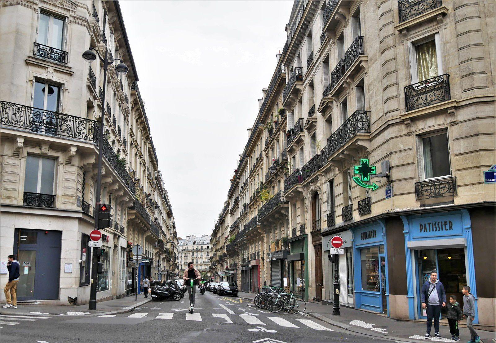 Rue Condorcet. Viollet le Duc, Nougaro...