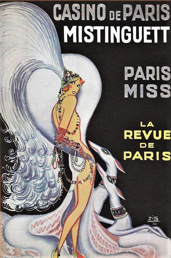 Rue de Clichy. Trinité. Casino de Paris.  Nadar. Ravachol. Enesco...
