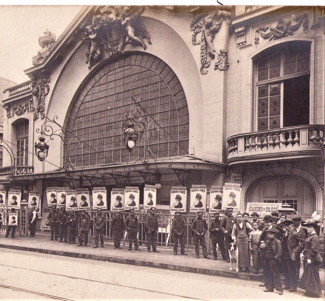 Le 16 Casino de Paris en 1904