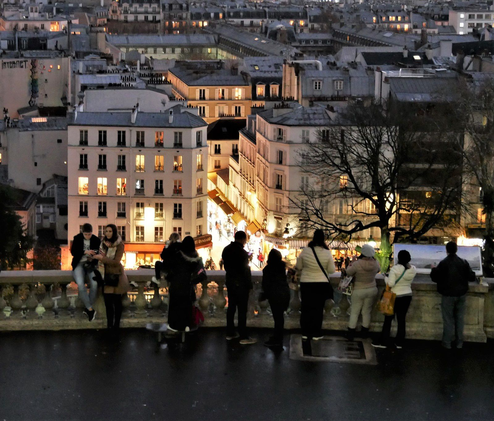 Novembre. Une photo par jour. album. Montmartre.