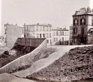 Escalier de la Fontenelle (aujourd'hui Chevalier de La Barre).
