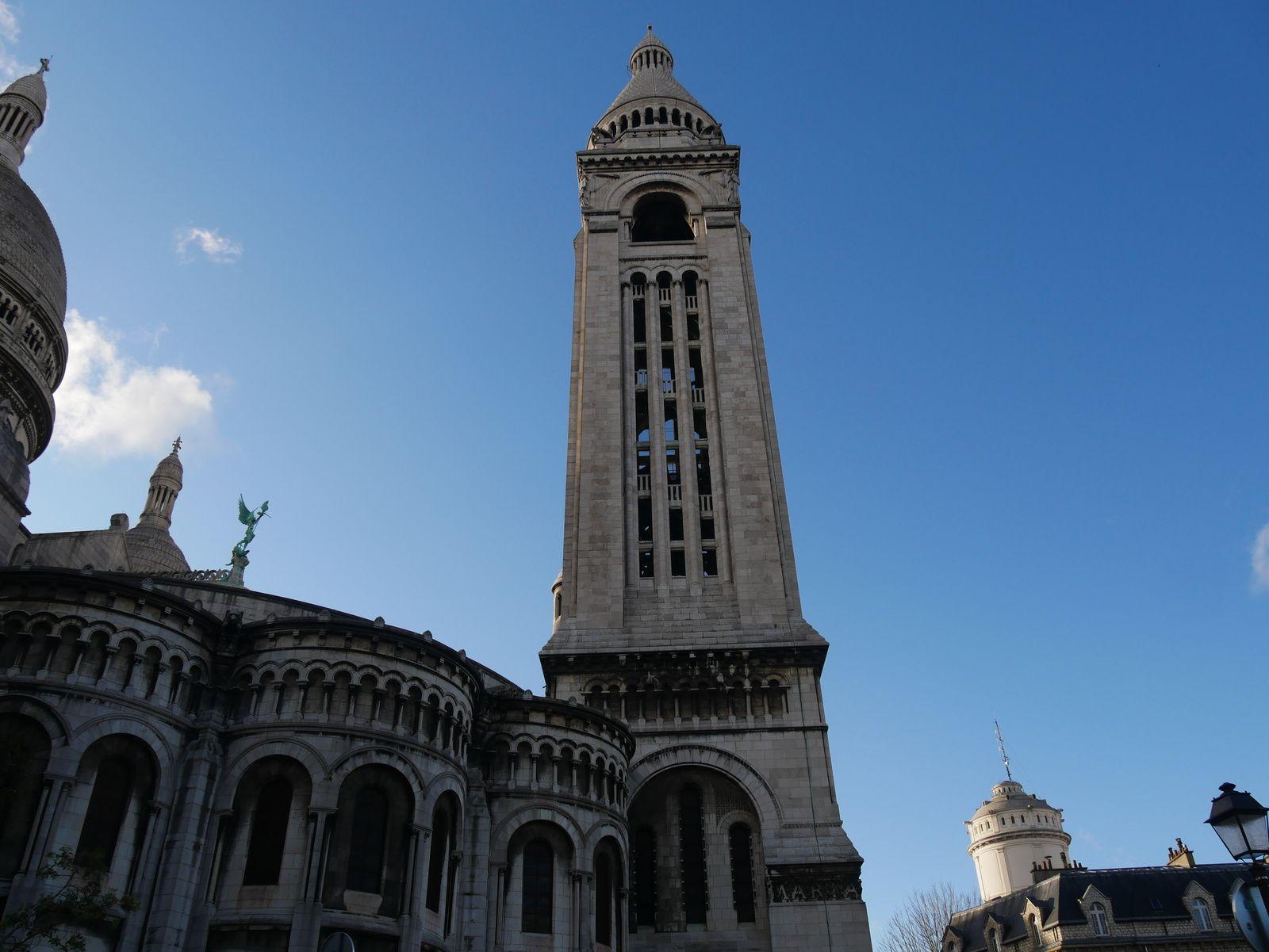 Montmartre. Sacré-Coeur. Saint-Michel terrassant le dragon. Sicart.