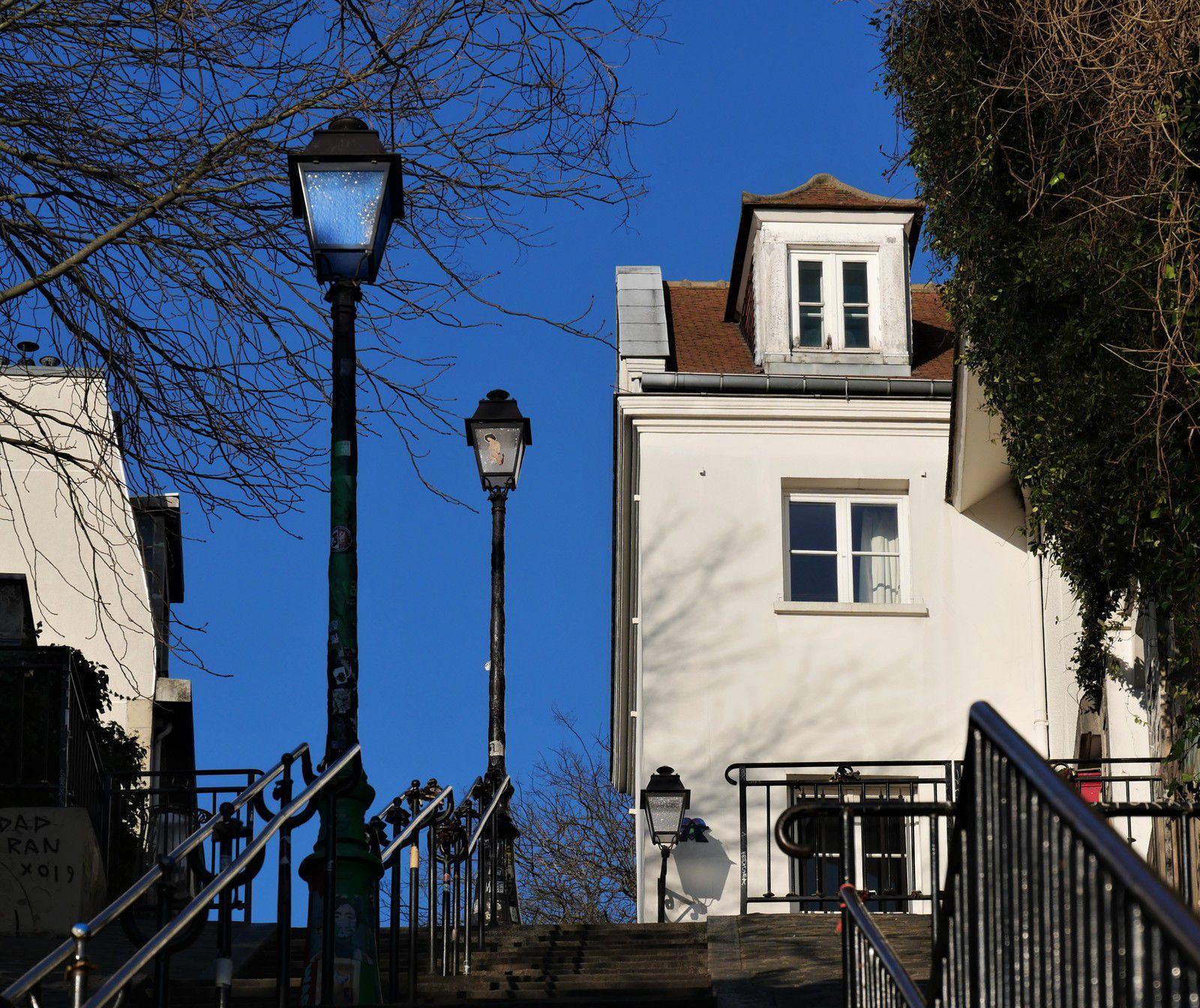 Janvier 2020. Photos de Montmartre jour après jour. Album.