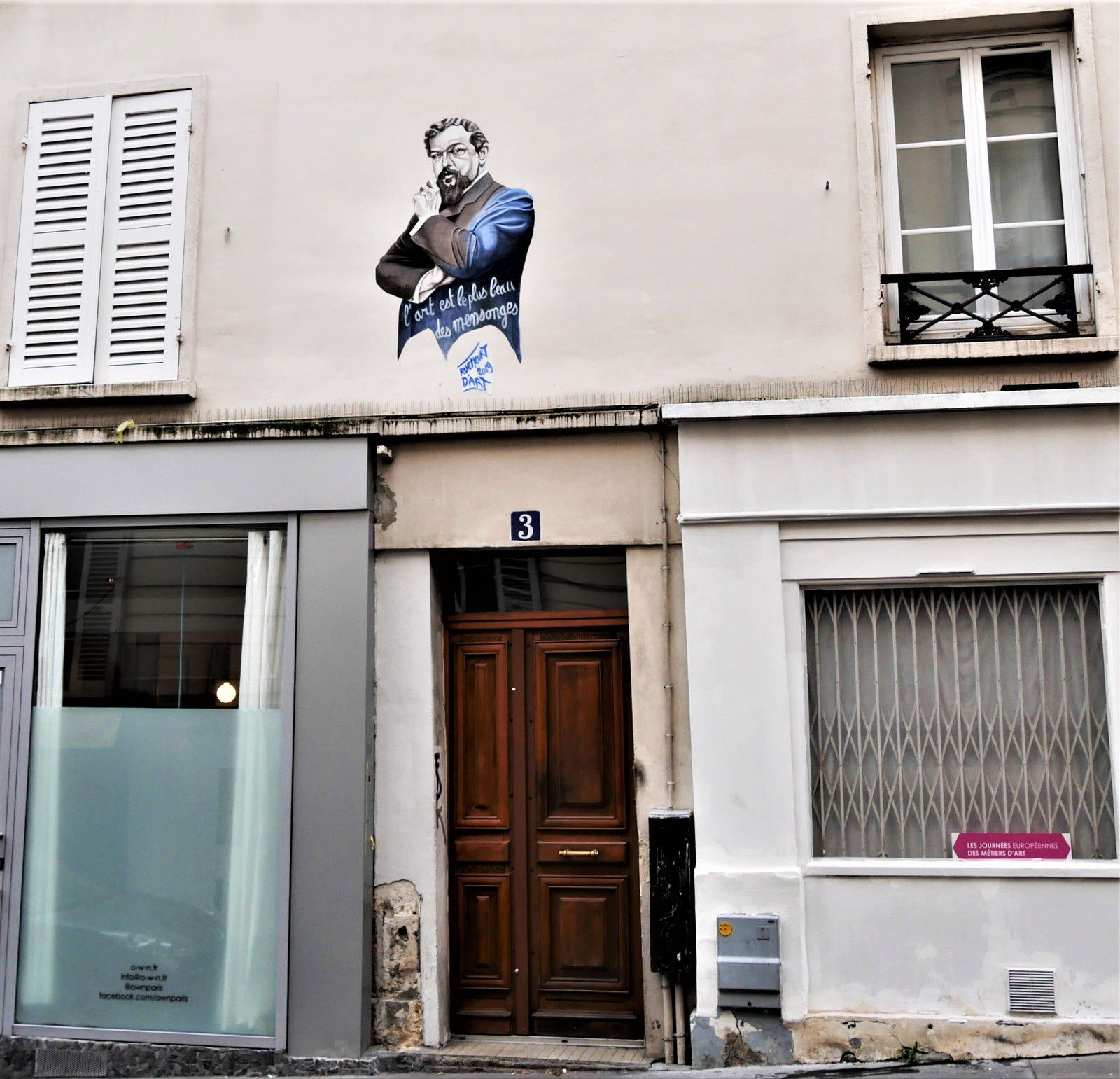 Debussy au 3 rue Nicolet