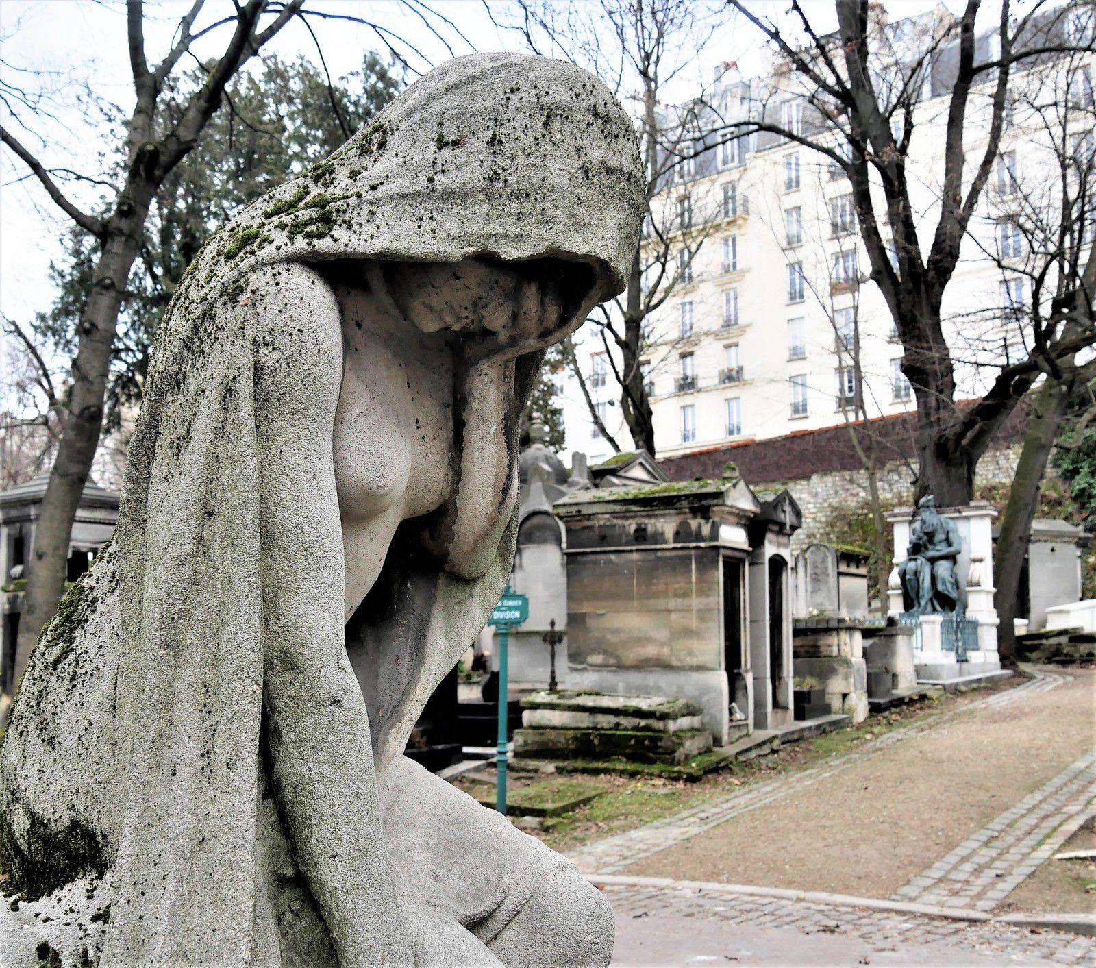 Cimetière de Montmartre. Henri Meilhac.