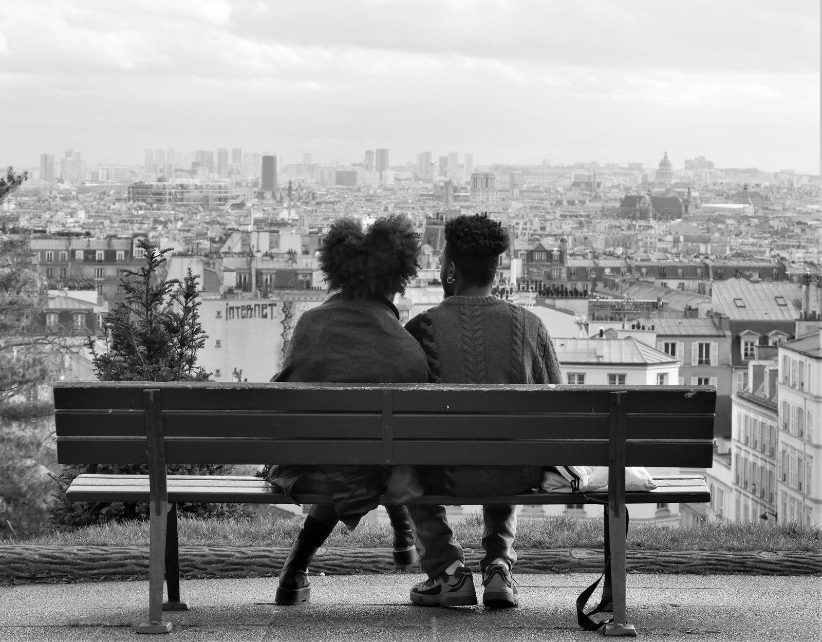 Février 2020. Album photos de Montmartre au jour le jour.