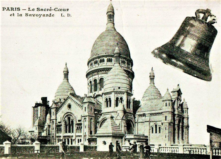 La Savoyarde. Le bourdon de Montmartre. Les cloches.