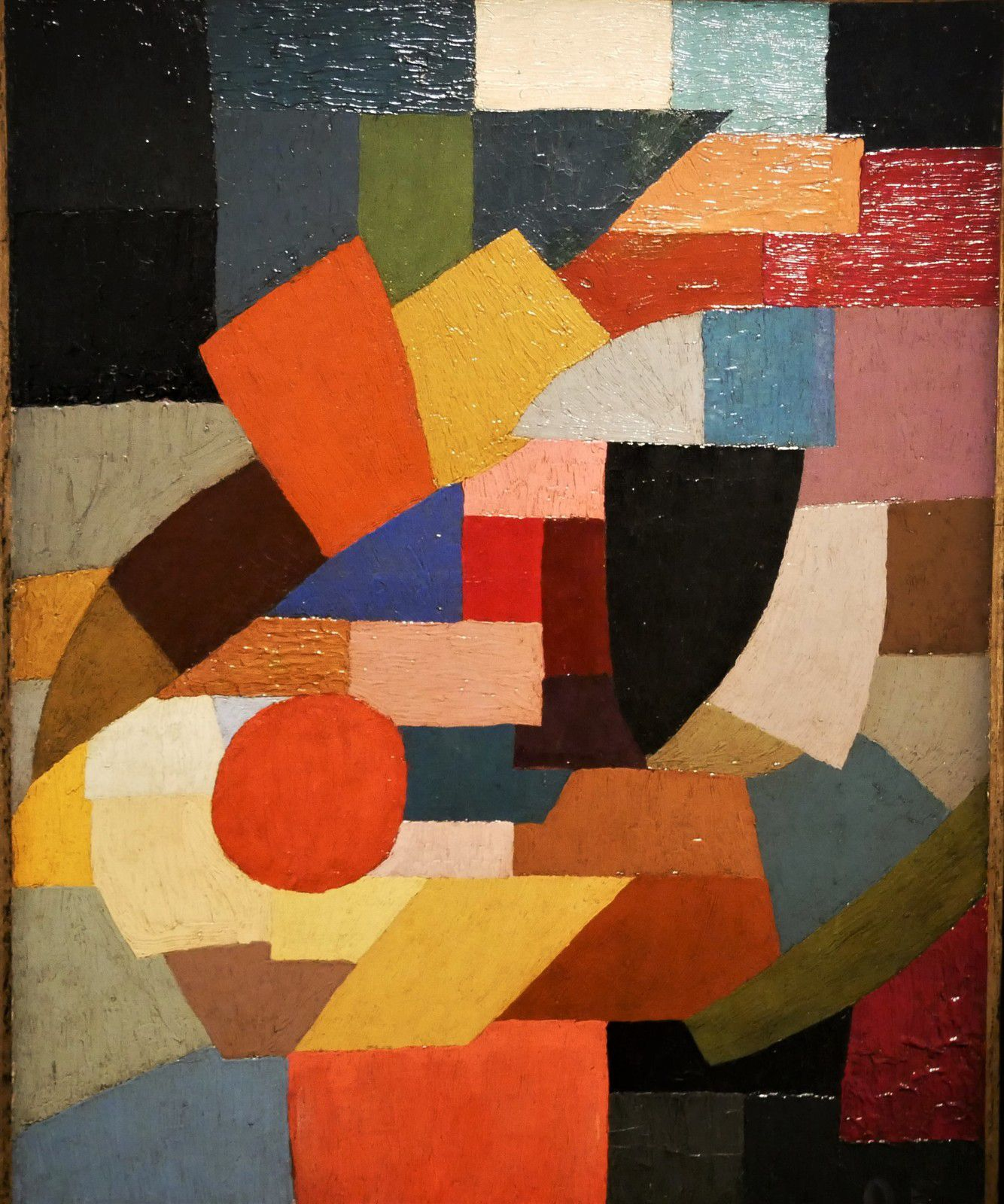 Fragments de figure à l'ensemble des plans (1927)
