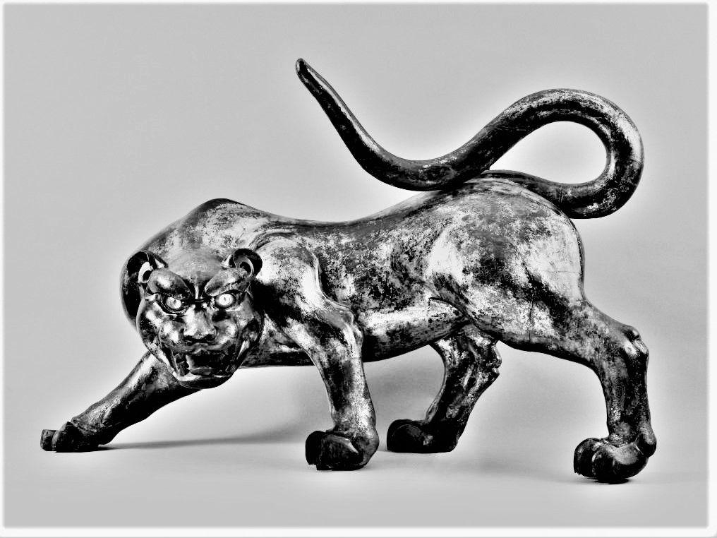 Le tigre de Sarah Bernhardt. Cernuschi.