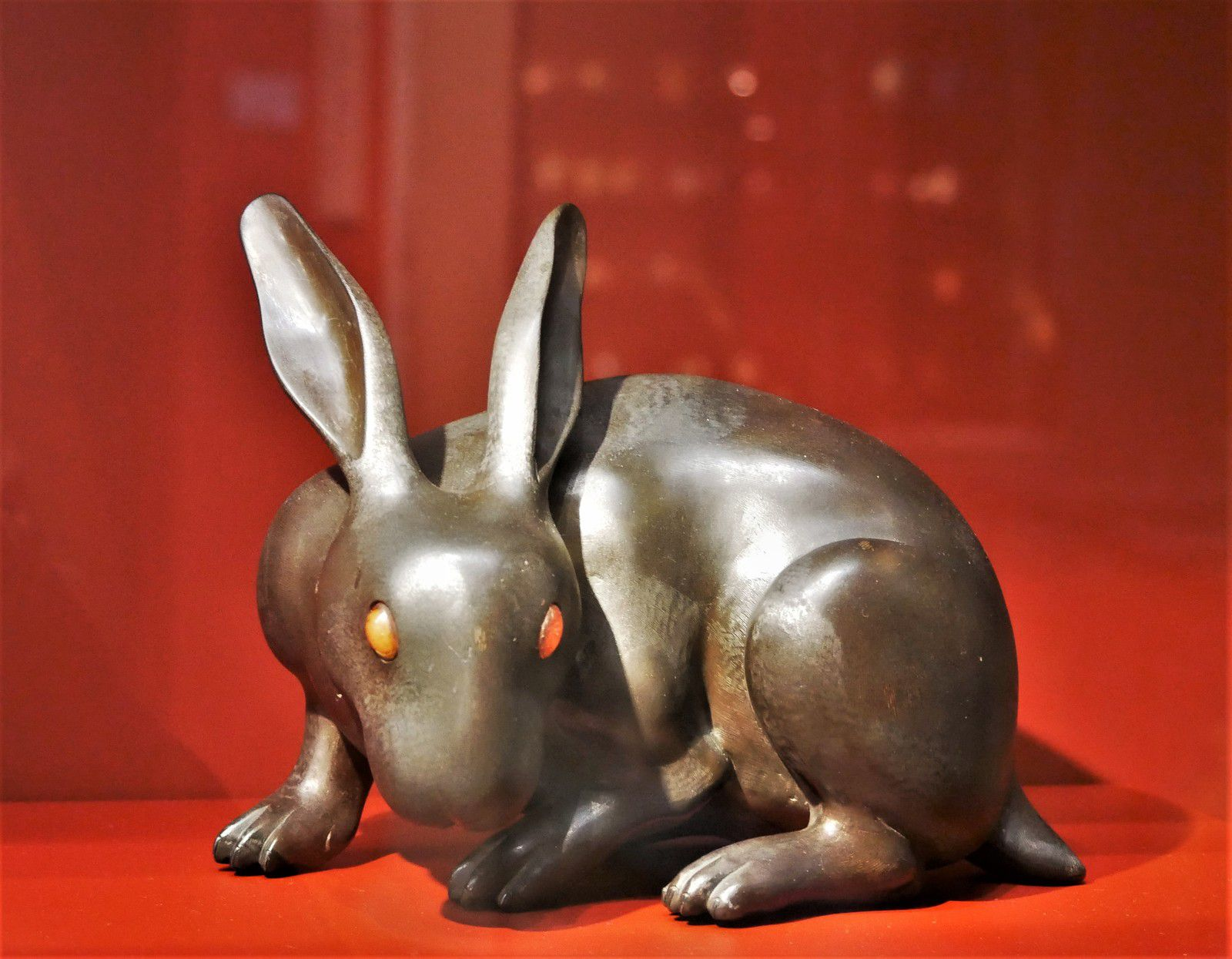 Les animaux brûle-parfums Edo. Musée Cernuschi.