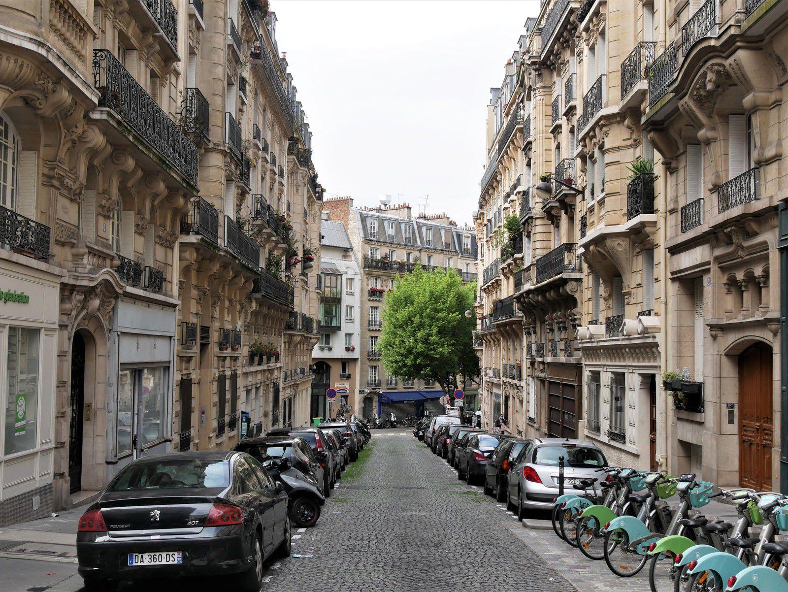 Rue Ziem. Rue Armand Gauthier. Un ensemble architectural du début du XXème siècle.