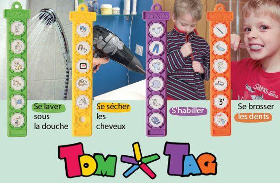 Ex de Tom Tag Hygiène et habillage - Je peux le faire - Source Hop'toys