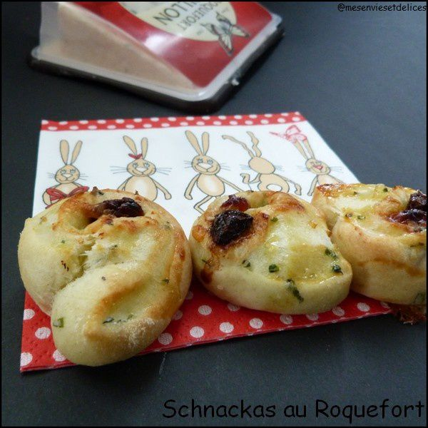 Schnackas au Roquefort