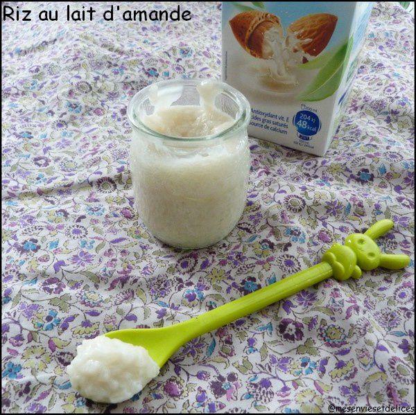 Riz au lait d'amande