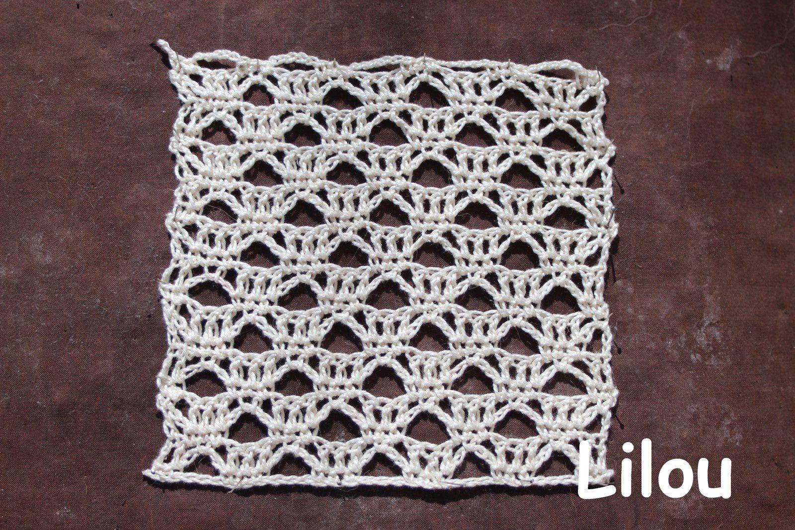 Dico de points au crochet 17 DIY modèle tuto gratuit