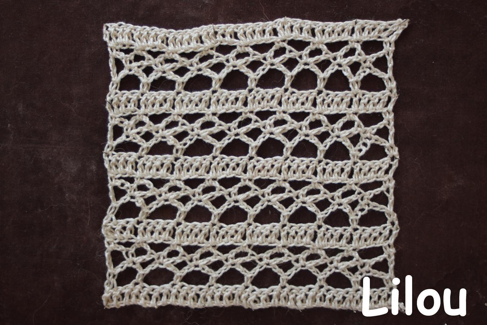 Dico de points au crochet 24 DIY modèle tuto gratuit