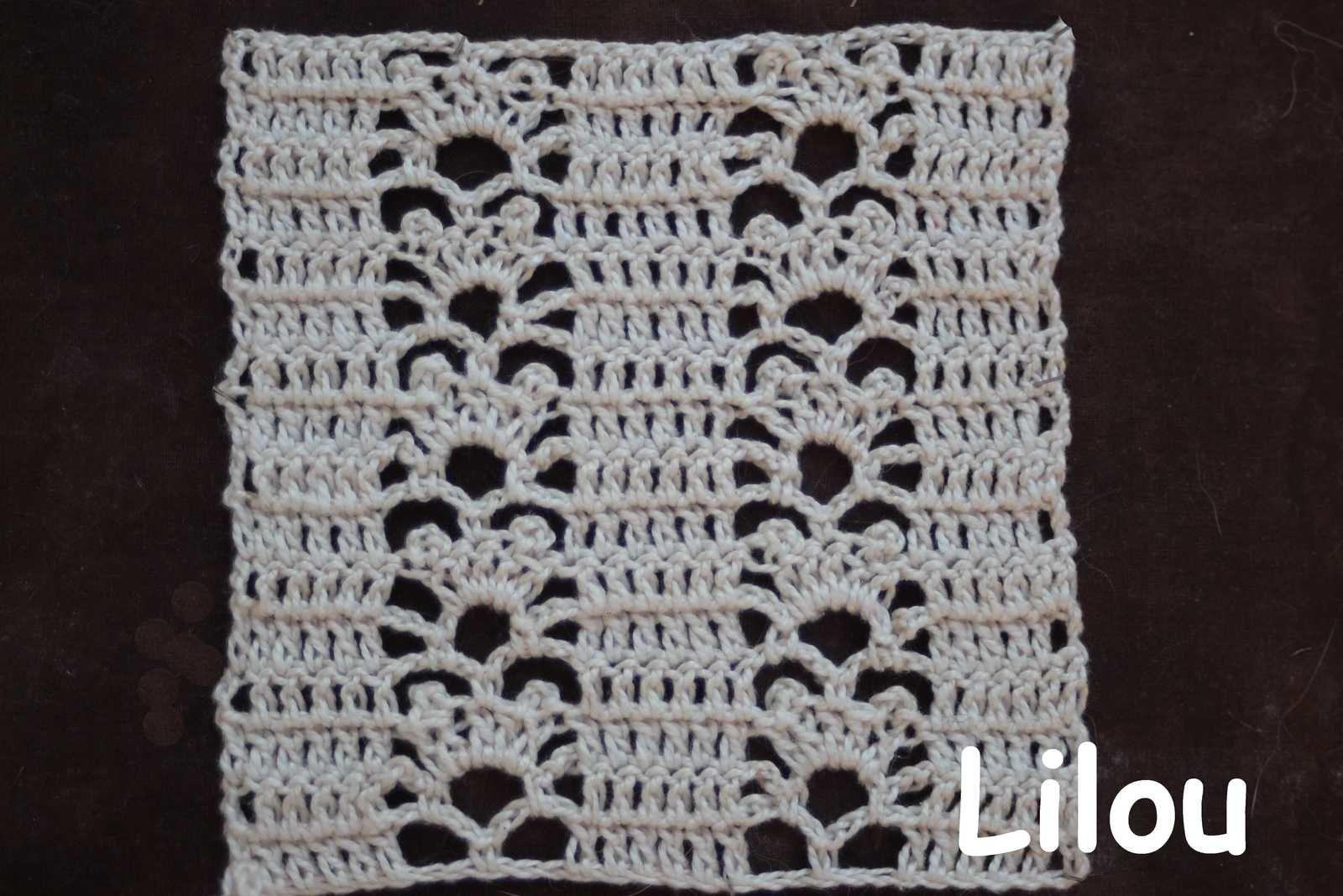 Dico de points au crochet 49 DIY modele tuto gratuit