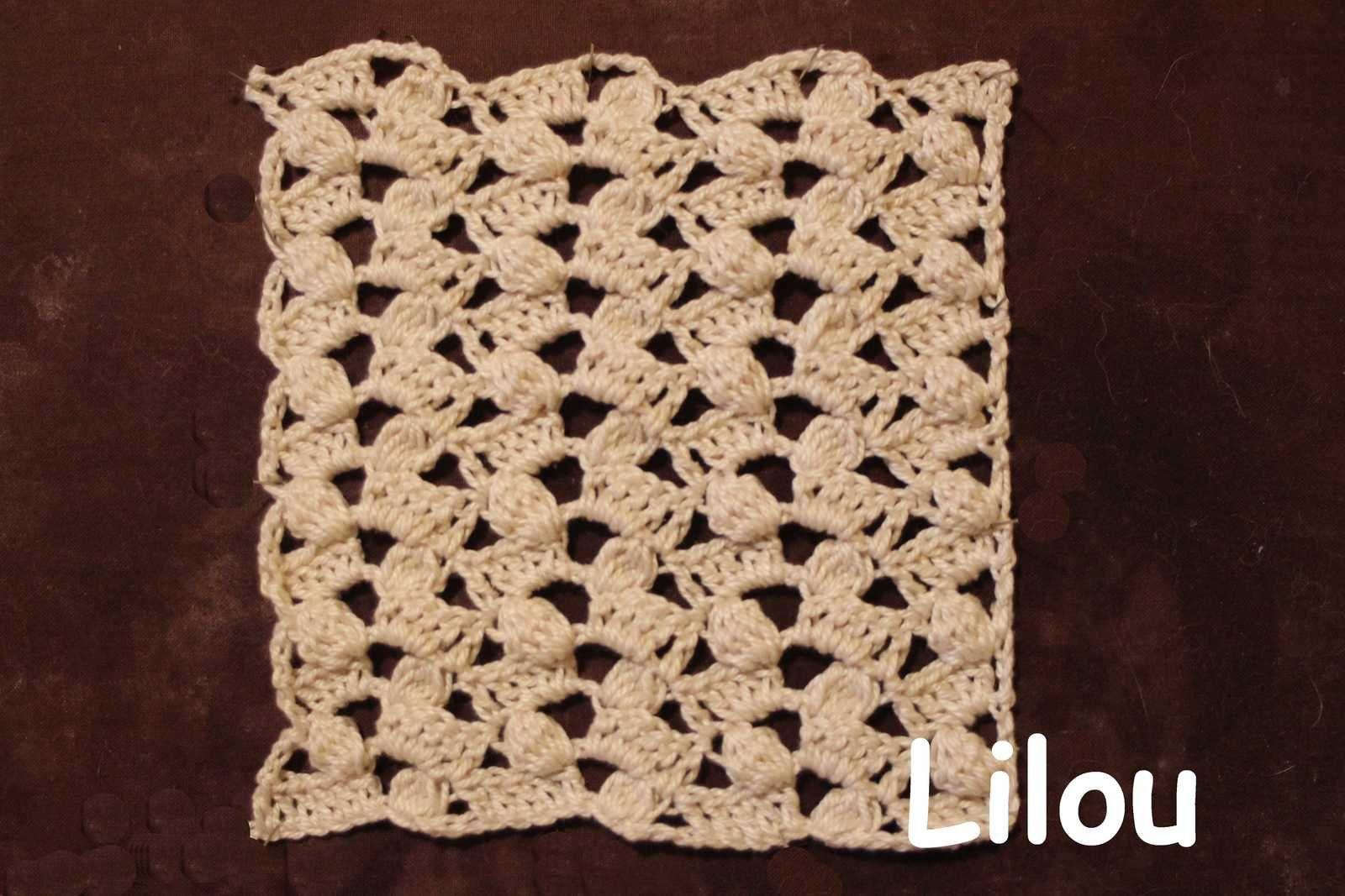 Dico de points au crochet 63 DIY modele tuto gratuit