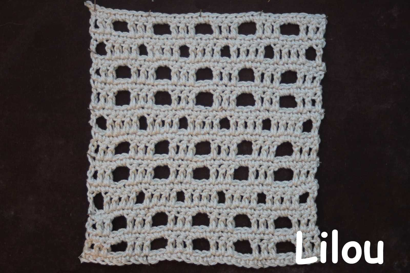 Dico de points au crochet 78 DIY modele tutot gratuit