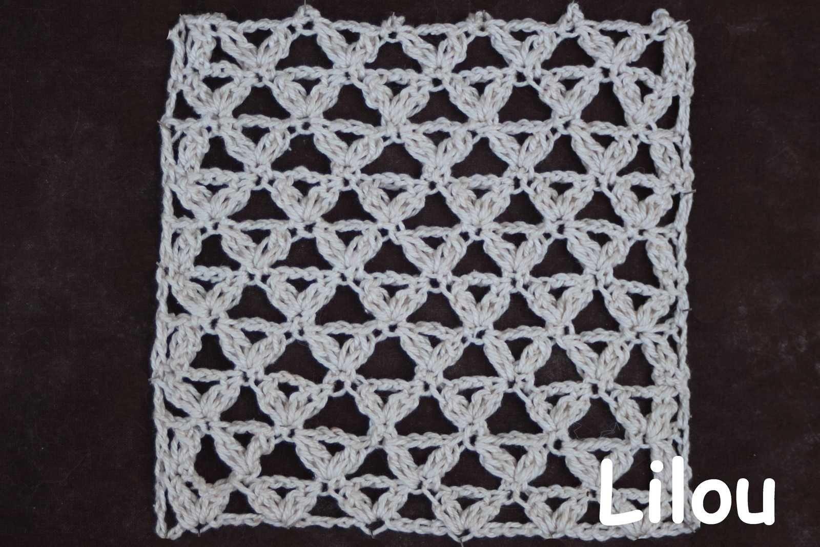 Dico de points au crochet 95 DIY modele Tuto gratuit