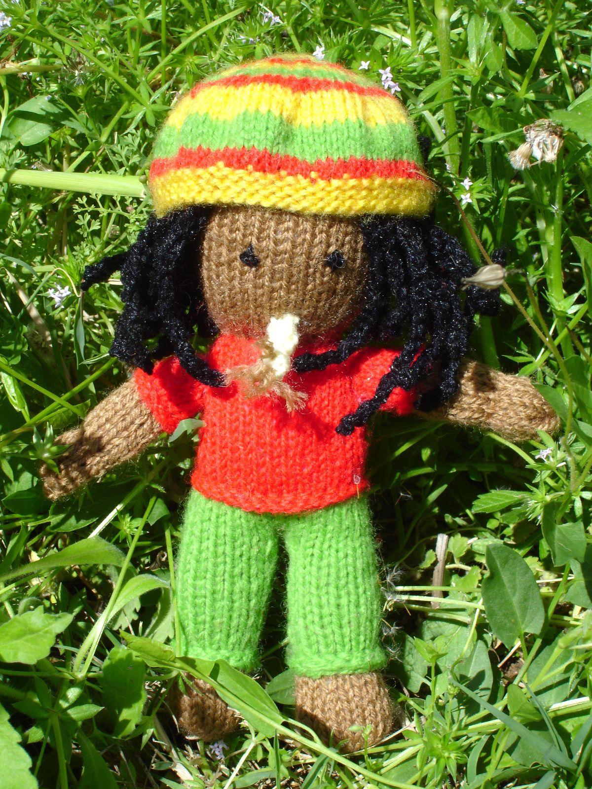 Rasta au tricot DIY modèle tuto gratuit