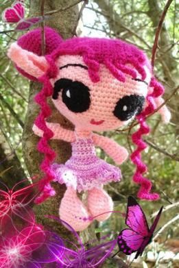 Elfe au crochet DIY modele tuto gratuit