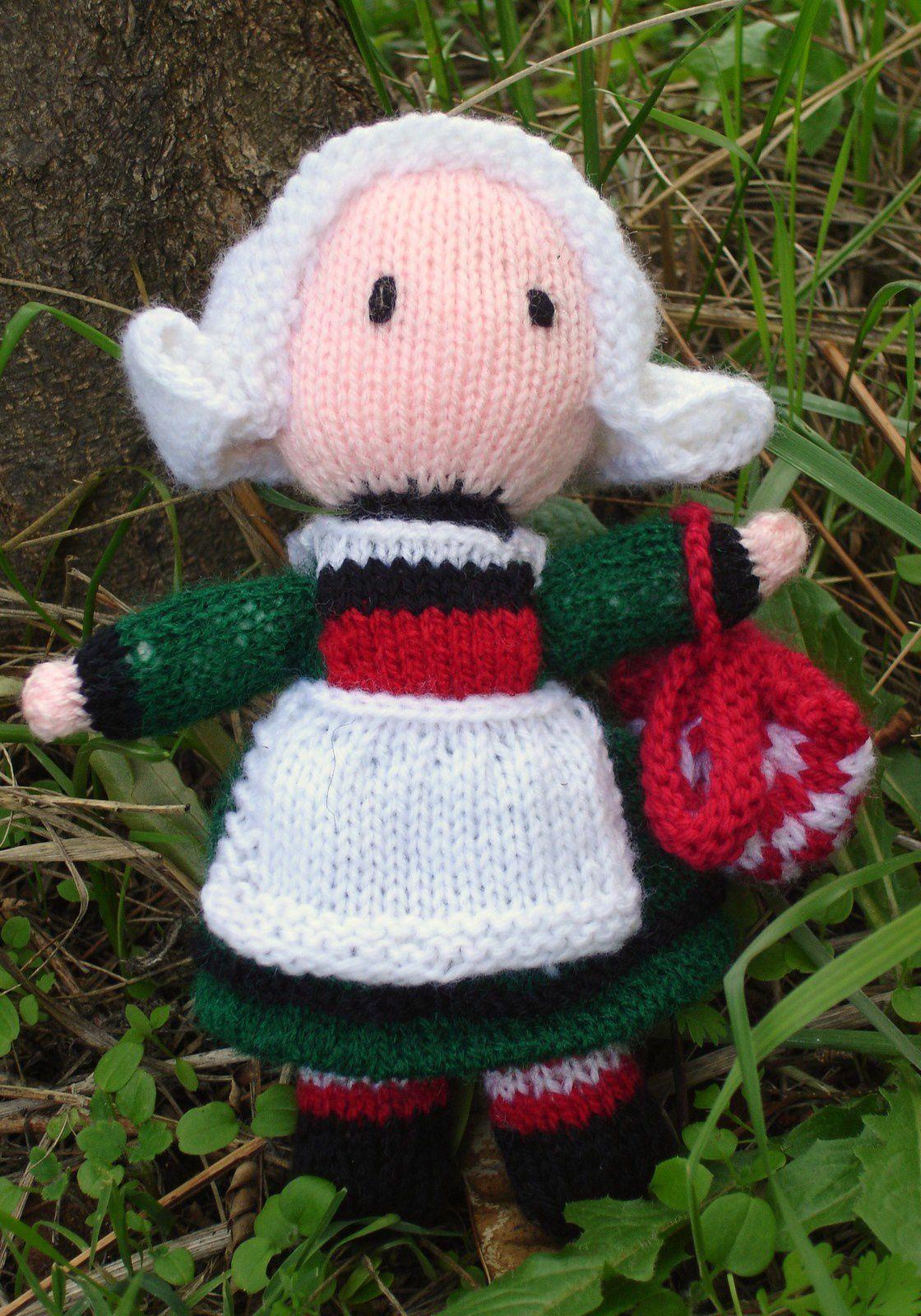 Bécassine au tricot DIY modèle tuto gratuit
