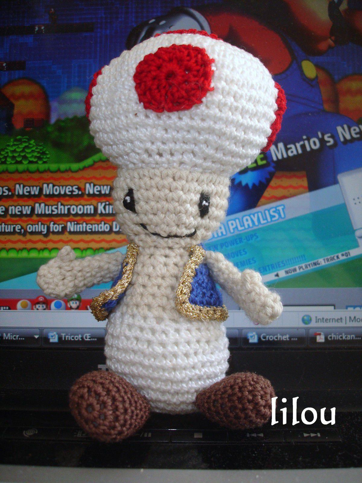 Toad au crochet DIY modele tuto gratuit