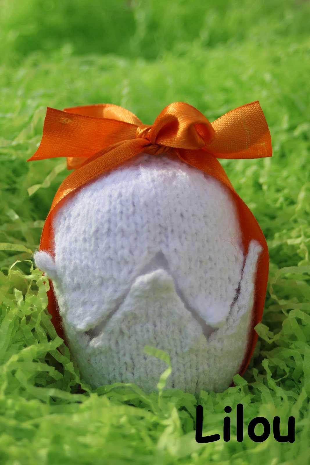 Oeuf et canards au tricot