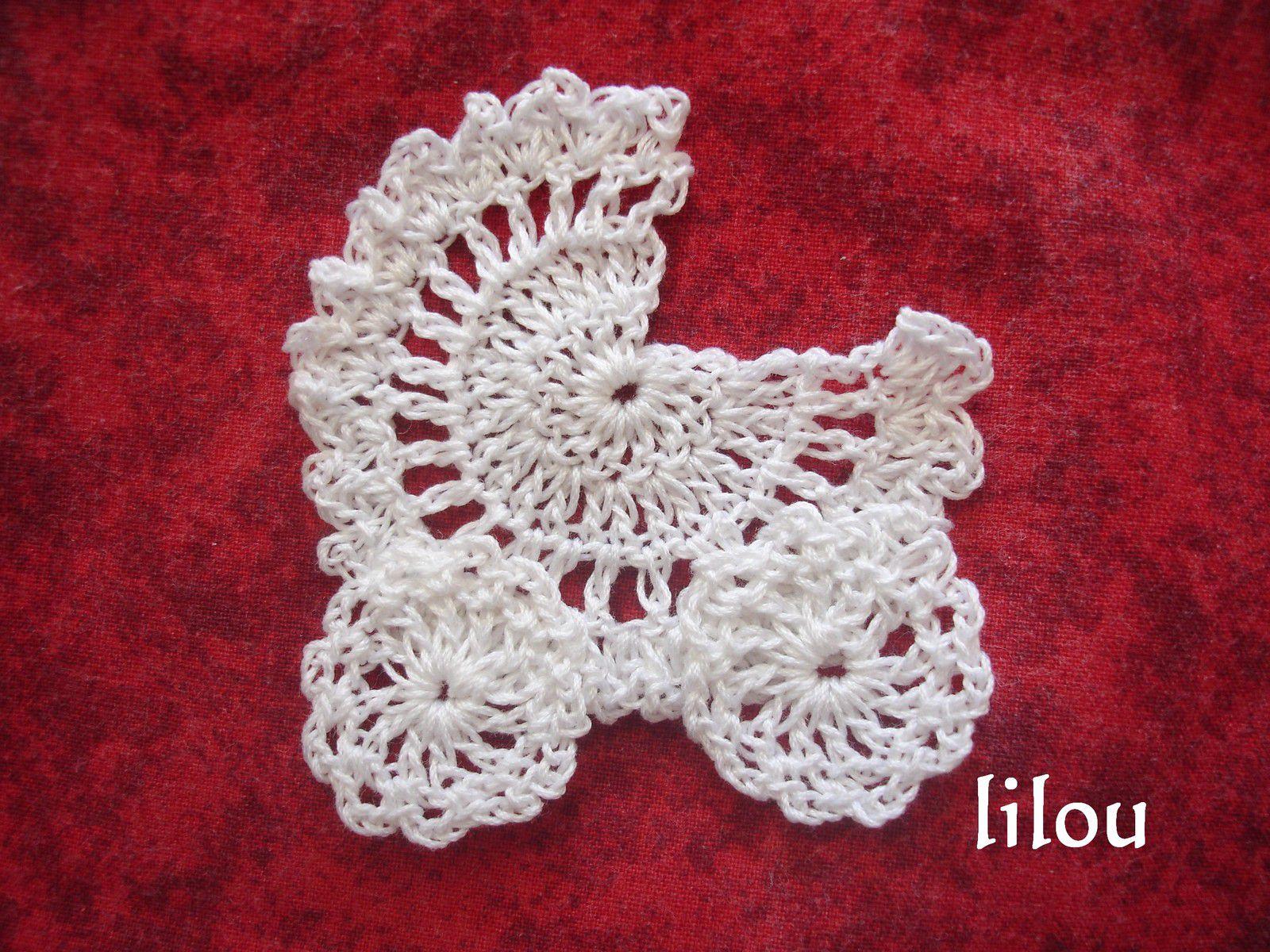 Mini layette au crochet.... suite DIY modele tuto gratuit