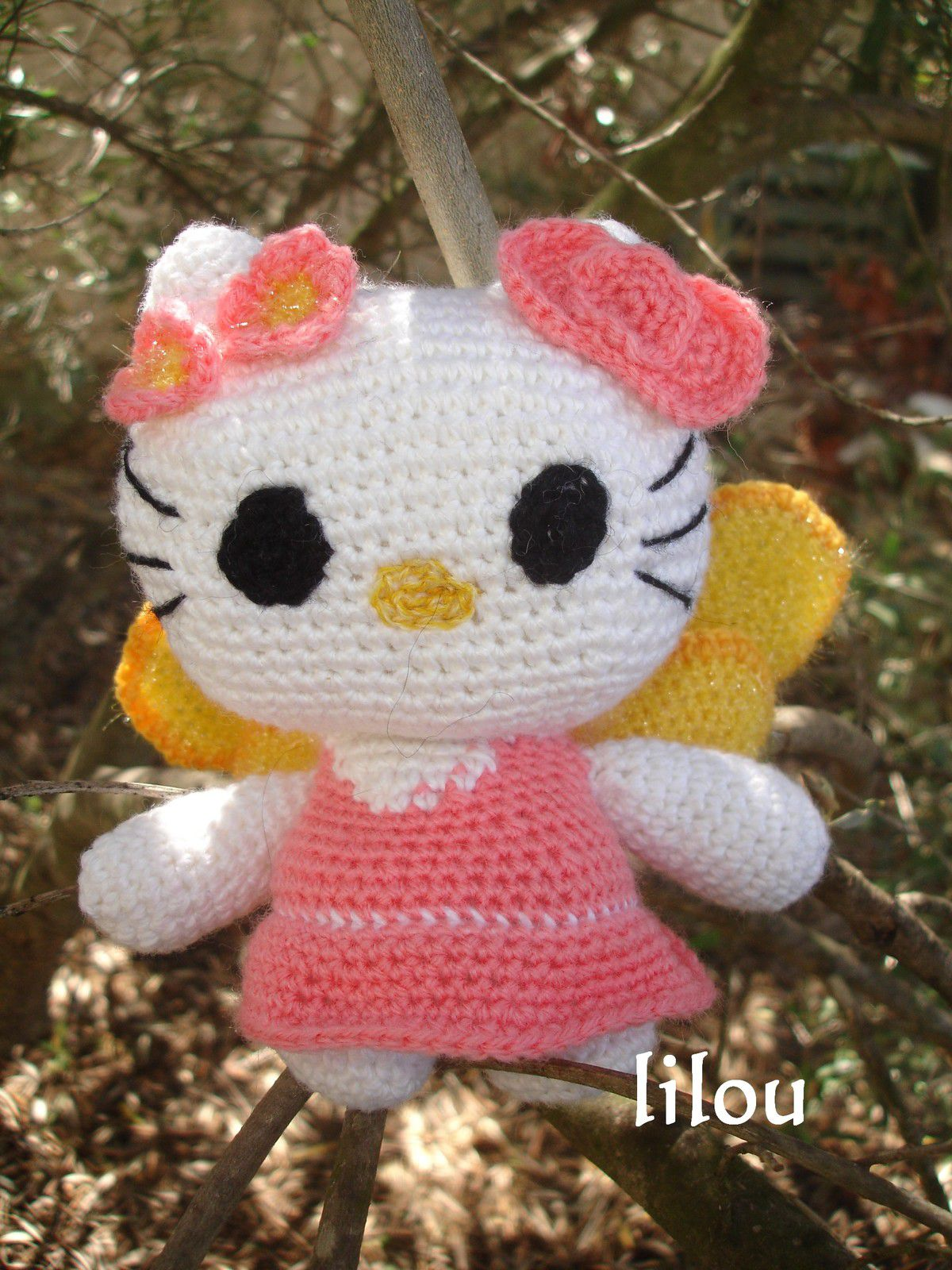 Hello Kitty Fée DIY modele tuto gratuit