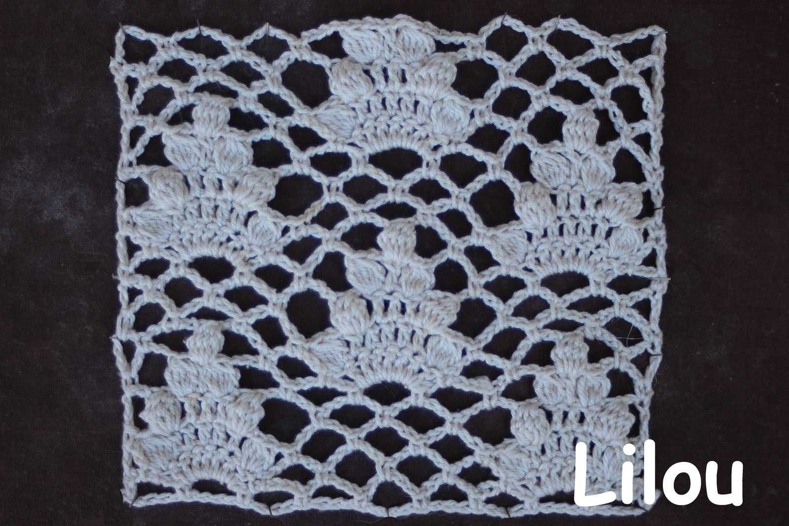 Dico de points au crochet 104 DIY modele tuto grautuit