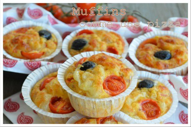 Muffins comme une pizza