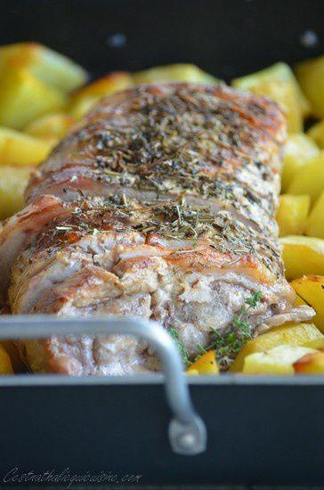 Roti De Porc Cuisson Basse Temperature Le Blog De C Est Nathalie