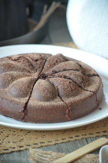 Moelleux chocolat et crème de marron extra fondant