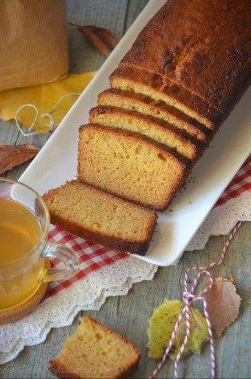 Cake au miel et à la farine d'épeautre
