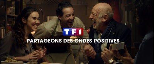 TF1 lance une nouvelle campagne de pub intitulé #partageonsdesondespositives