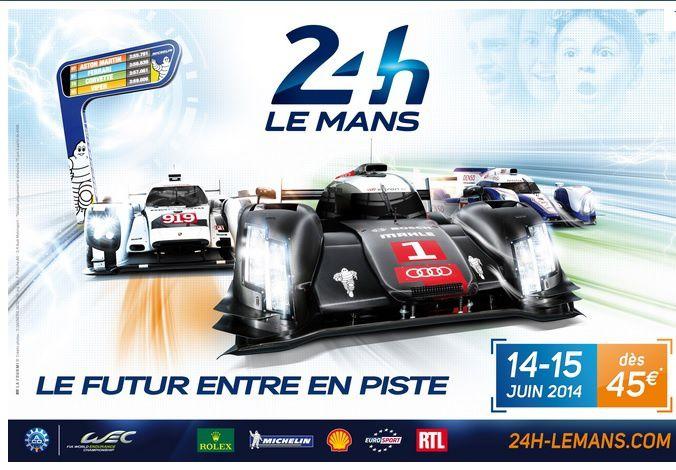 24 heures du Mans les 14 et 15 juin sur France Télévisions